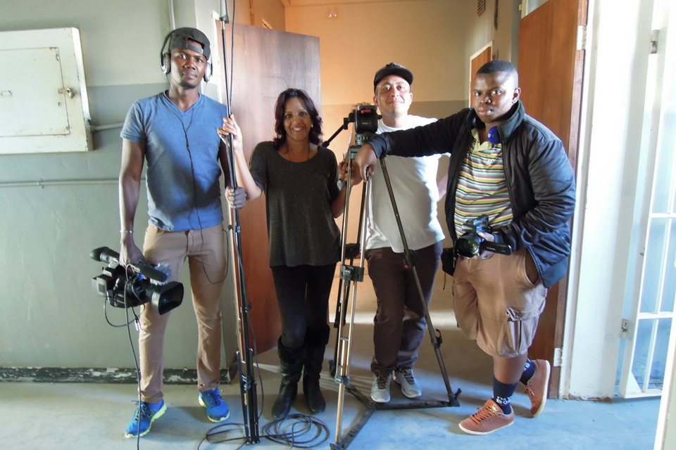 Haj and SA FILM Academy Interns