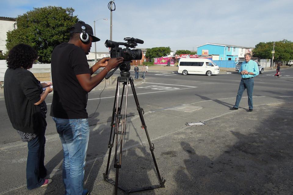 SA FILM Academy Interns filming